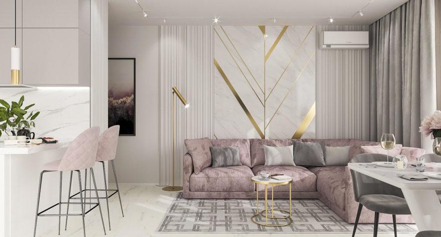 Katarina sofa in the interior фото 10