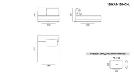 Katarina sofa размеры фото 7