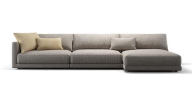 Кутовий диван з кушеткою KATARINA фото