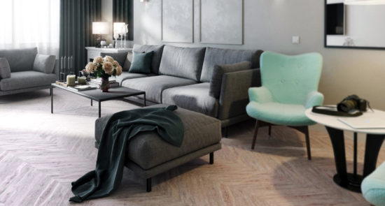 Alfinosa sofa in the interior фото 7-2