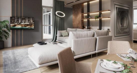 Alfinosa sofa in the interior фото 4-2