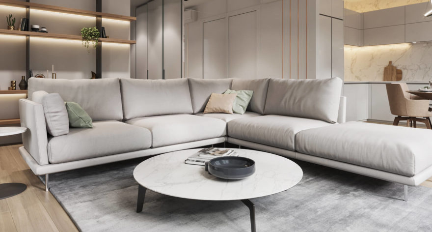 Alfinosa sofa in the interior фото 3