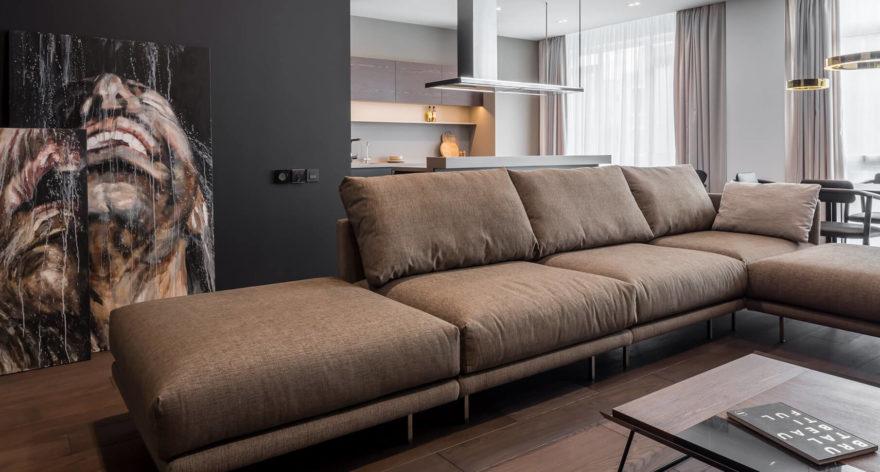 Alfinosa sofa in the interior фото 2