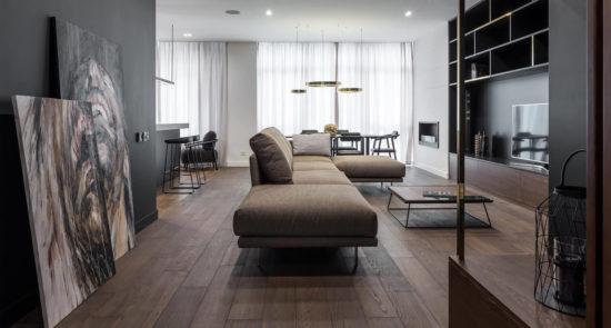 Alfinosa sofa in the interior фото 1-2
