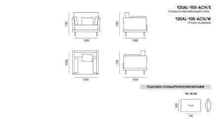 Alfinosa sofa размеры фото 1