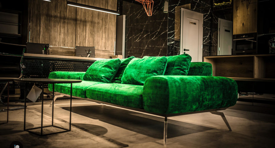 Linda sofa in the interior фото 4