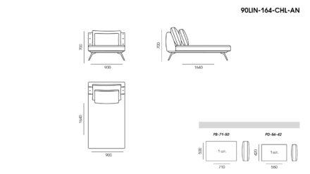 Linda sofa размеры фото 8