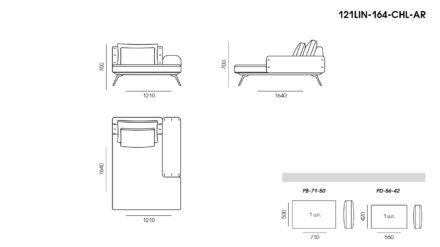 Linda sofa размеры фото 6