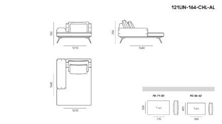 Linda sofa размеры фото 7