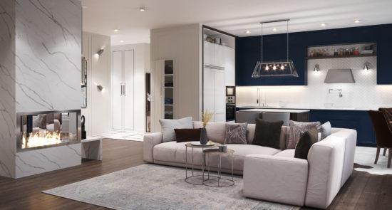 Tutto sofa in the interior фото 13-2