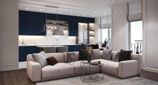 Tutto sofa in the interior фото 13-1