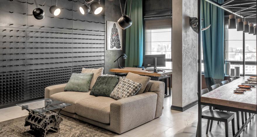 Tutto sofa in the interior фото 2