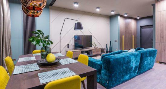 Tutto sofa in the interior фото 1-2