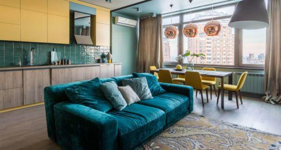 Tutto sofa in the interior фото 1-1