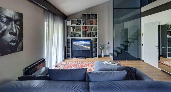 Tutto sofa in the interior фото 10-2