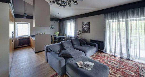 Tutto sofa in the interior фото 10-1