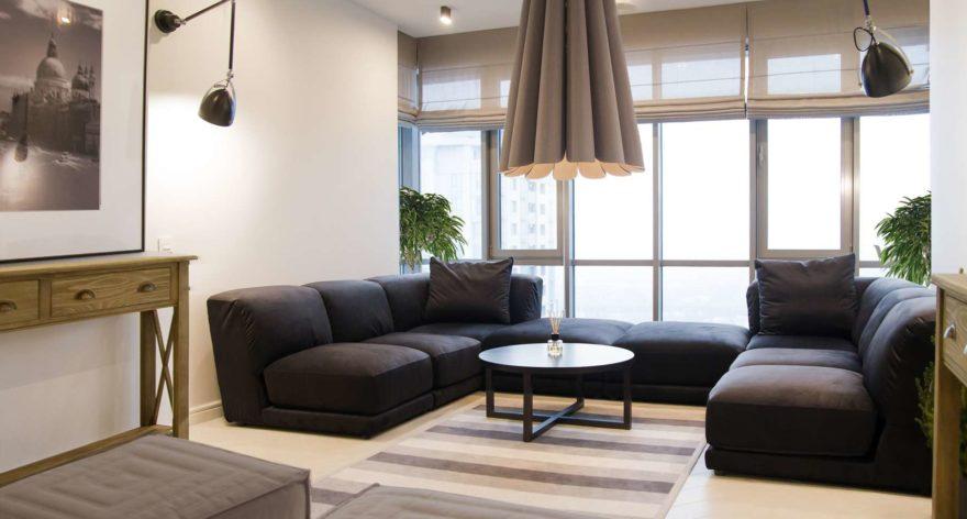 Tutto sofa in the interior фото 7