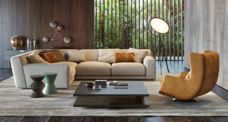 Tutto sofa фото в интерьере