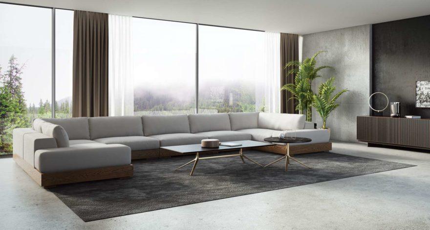 Appiani sofa in the interior фото 2