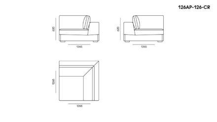 Appiani sofa размеры фото 5