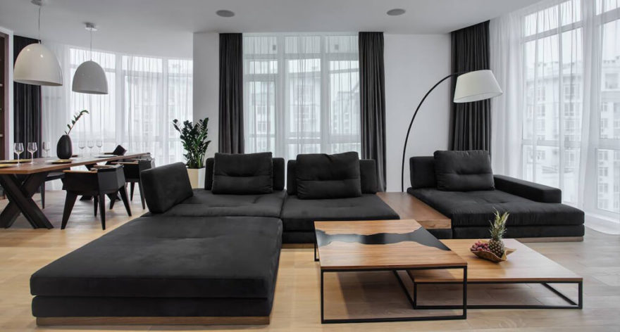 Ermes sofa in the interior фото 1