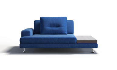 МModule with an armrest with a table sofa фото