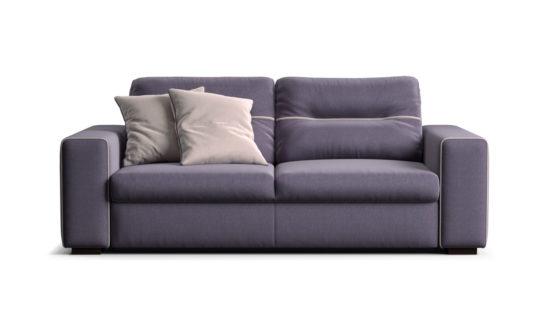 Двомісний диван з розкладним механізмом для сну SKY фото