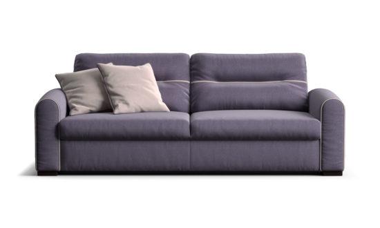 Three-seater sofa with a sleeper mechanism sofa фото