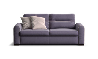 Two-seater sofa with a sleeper mechanism sofa фото