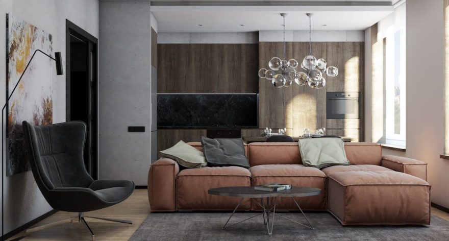 Melia sofa in the interior фото 11