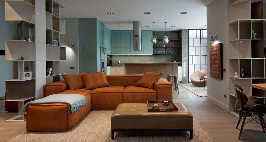 Melia sofa in the interior фото 1