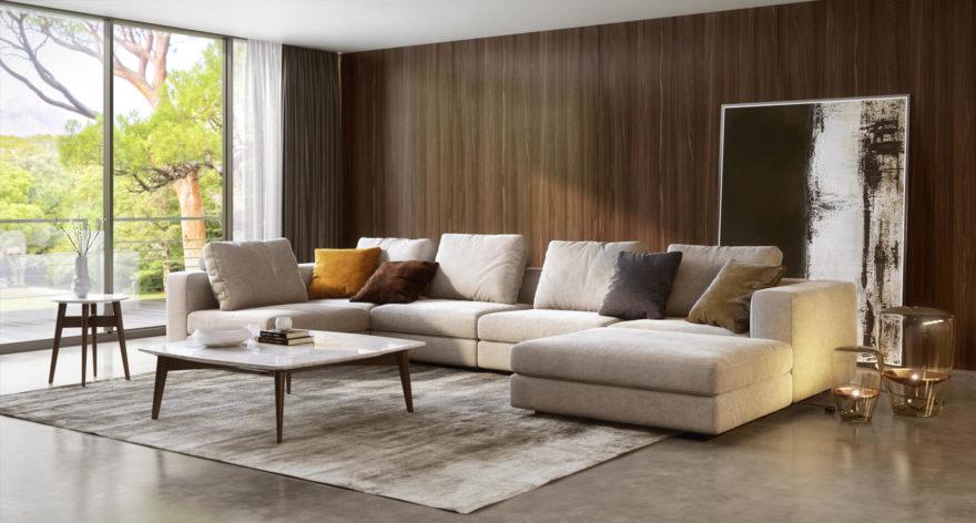 Soho sofa фото в интерьере
