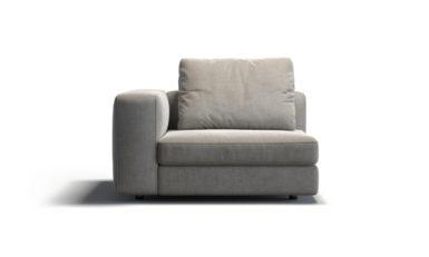 Module with an armrest sofa фото