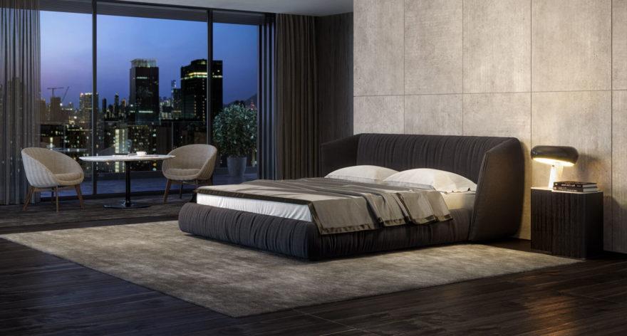 Ліжко TOO NIGHT в інтер'єрі фото 1