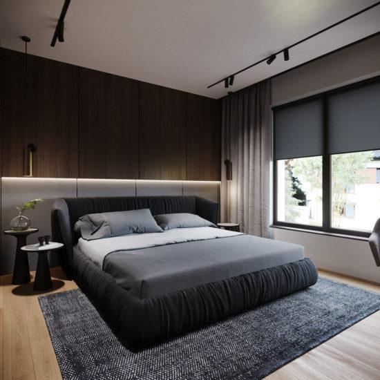 Ліжко TOO NIGHT в інтер'єрі фото 6-1