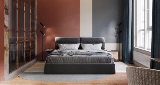 Ліжко LIMURA в інтер'єрі фото 10-1