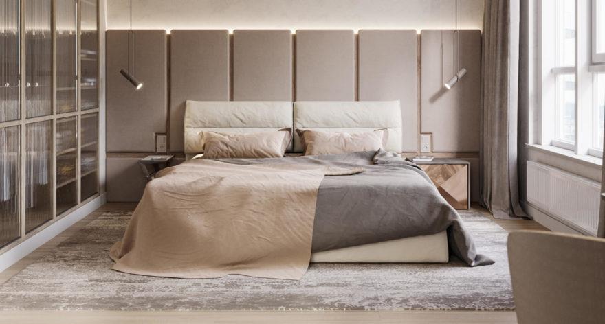 Ліжко LIMURA в інтер'єрі фото 13