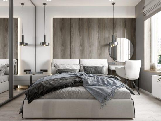 Ліжко LIMURA в інтер'єрі фото 2-1