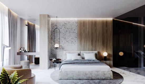 Ліжко LIMURA в інтер'єрі фото 6-1