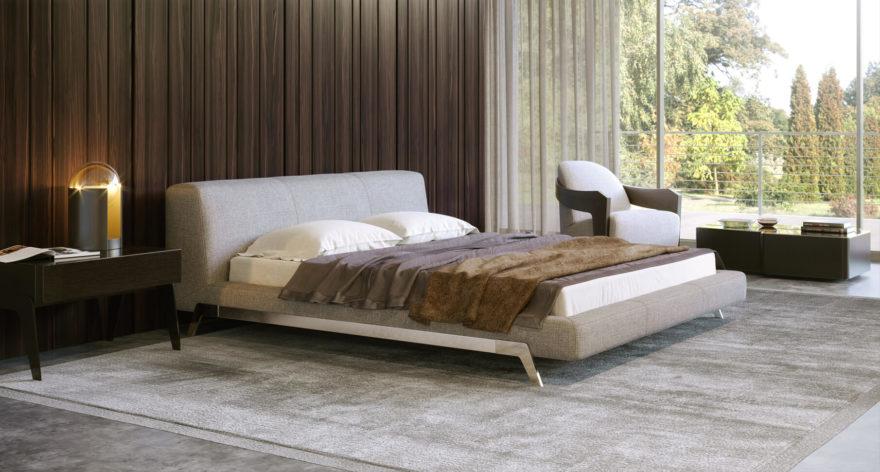 Ліжко ETERNA фото в интерьере