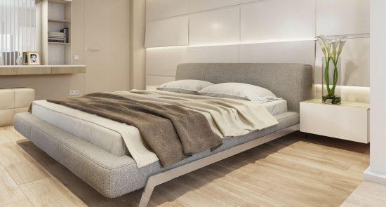 Ліжко ETERNA в інтер'єрі фото 8-1