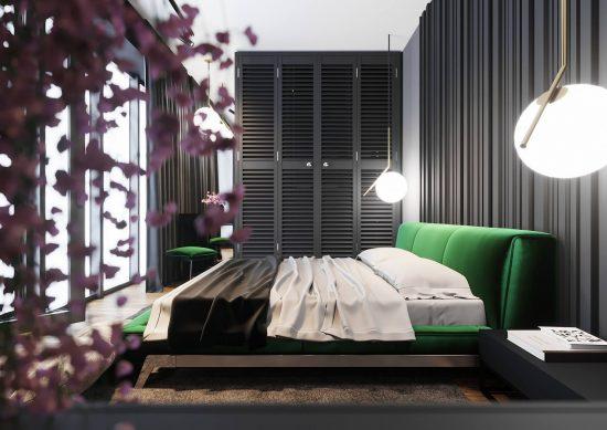 Ліжко ETERNA в інтер'єрі фото 2-1