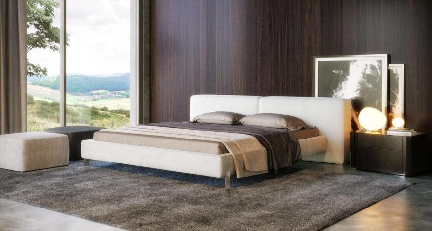 Ліжко VOGUE фото в интерьере