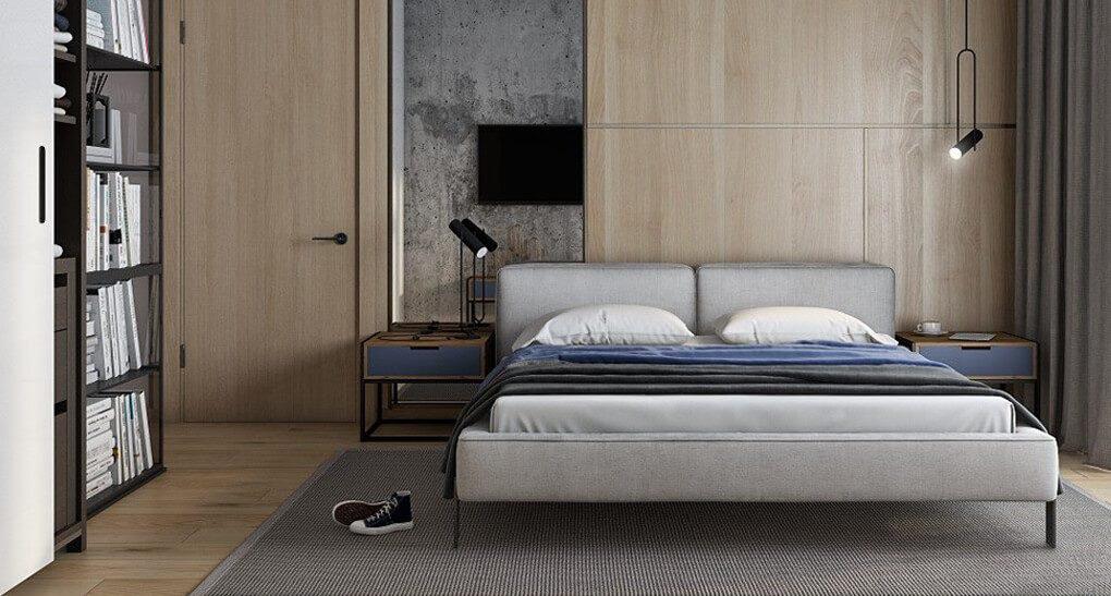 Ліжко VOGUE в інтер'єрі фото 7-1