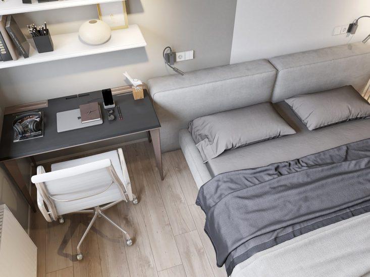 Ліжко VOGUE в інтер'єрі фото 4