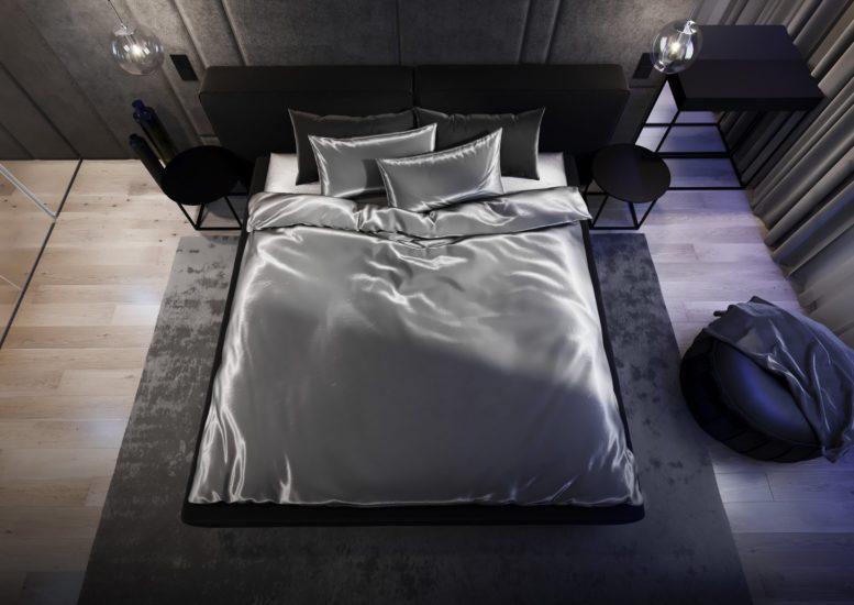 Ліжко VOGUE в інтер'єрі фото 1