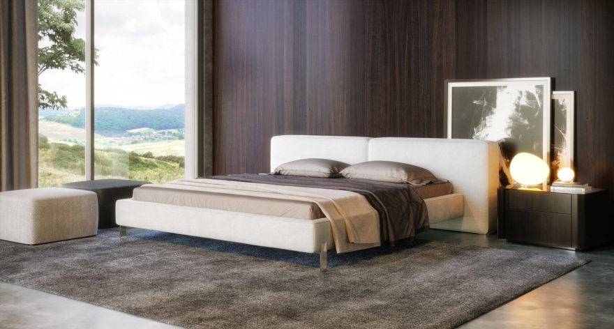 Vogue bed in the interior фото 6