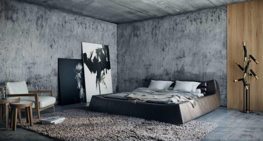Ліжко DIONIGI фото в интерьере