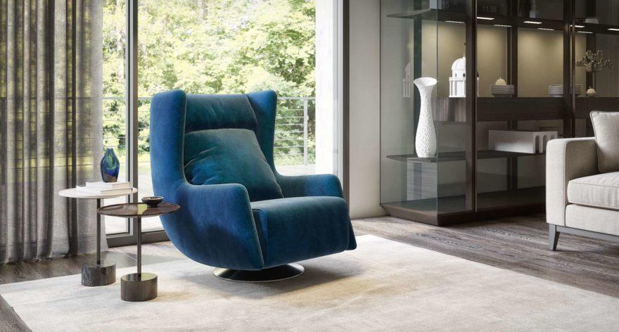 Tati armchair фото в интерьере