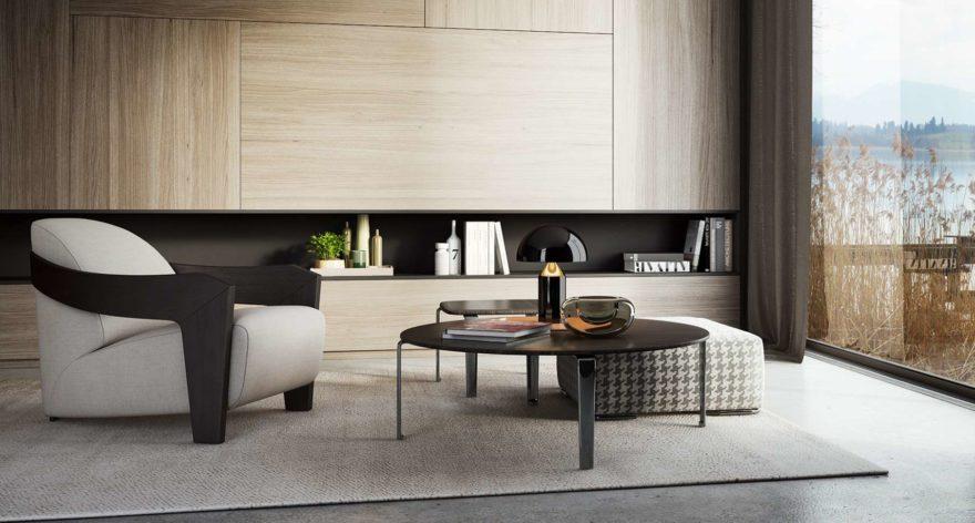Moko armchair фото в интерьере